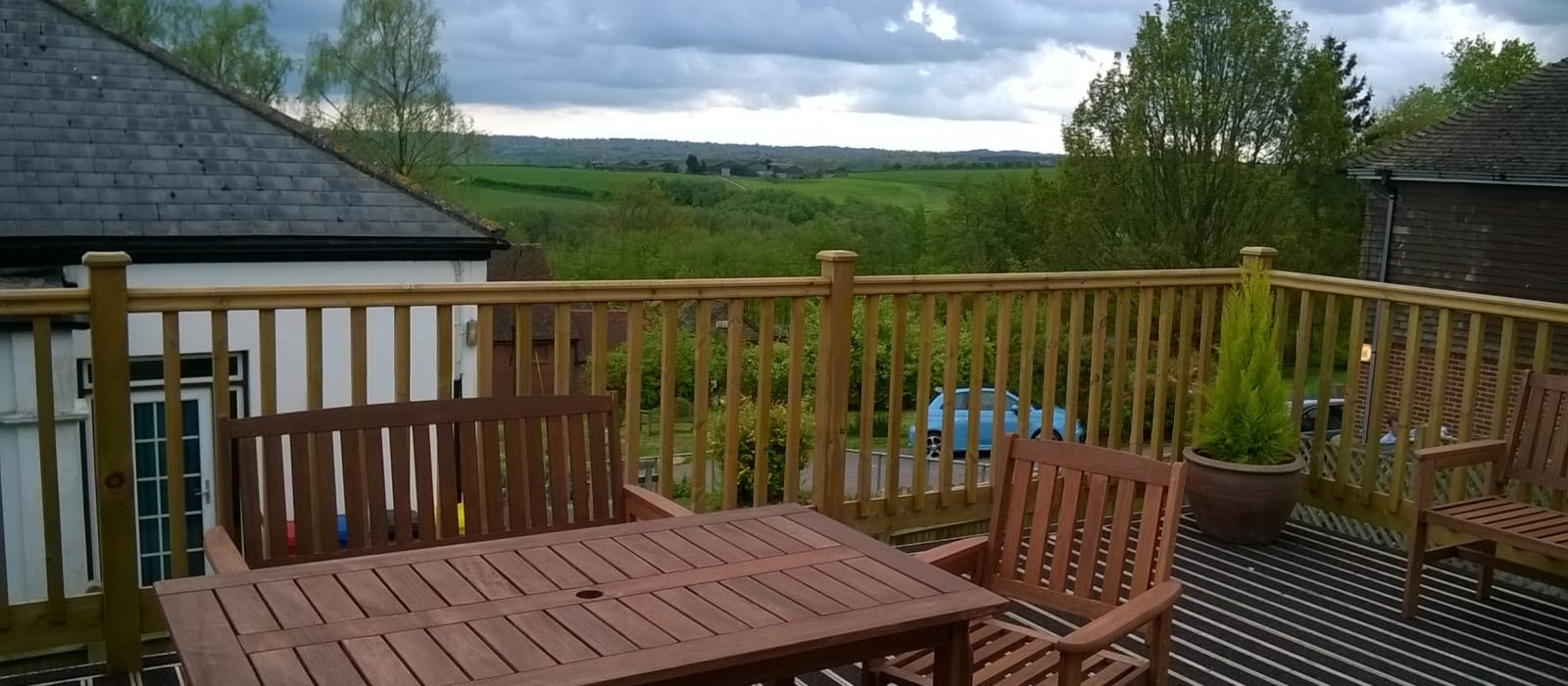 garden view at Fern residential care home