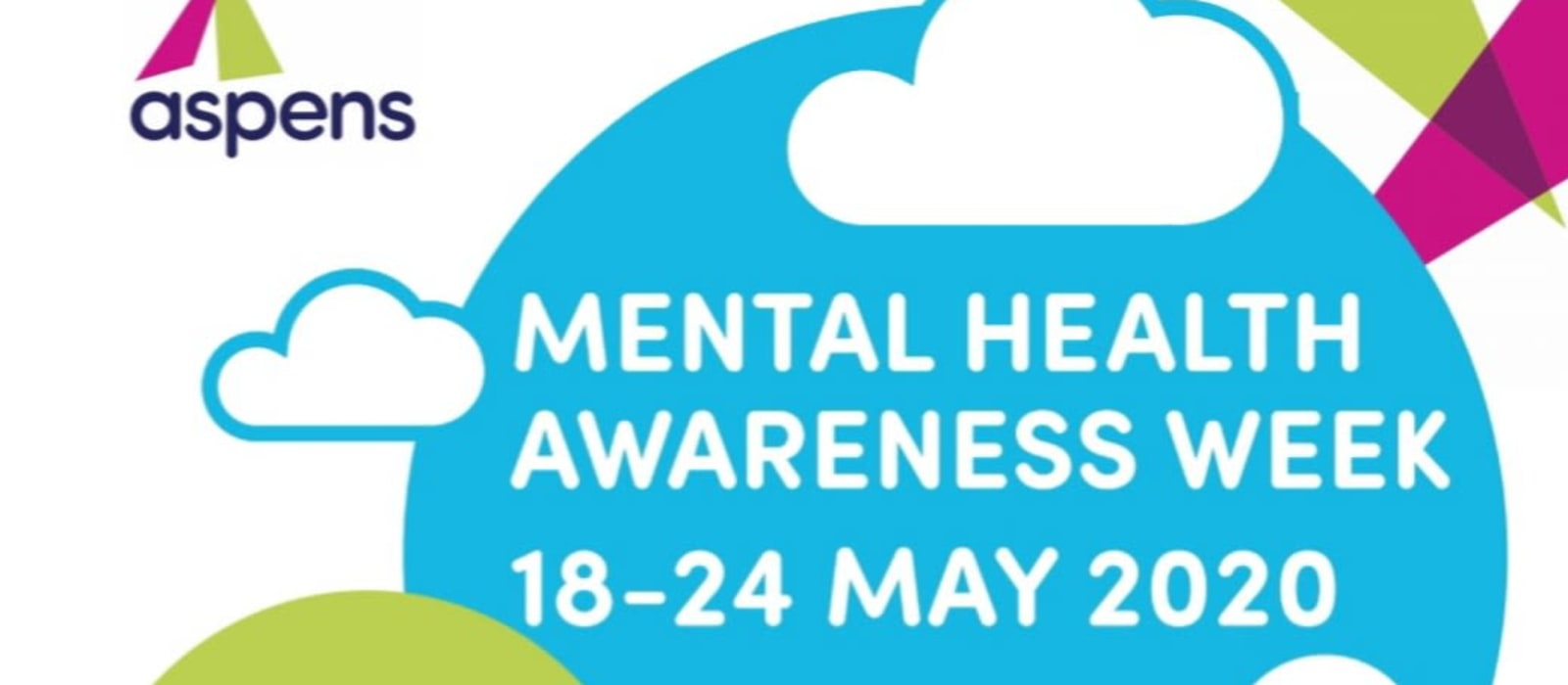 Aspens is proud to celebrate Mental Health Awareness Week